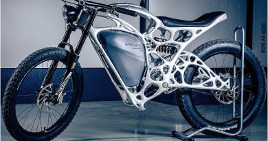 Pierwszy motocykl wydrukowany w technologii 3D ze stopu Al-Mg-Sc